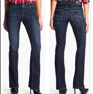 NWT Kut From the Kloth Farrah Baby Bootcut Jeans